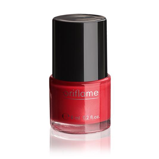 Oriflame Pure Colour Nail Polish-Coral Red | Fashioniel
