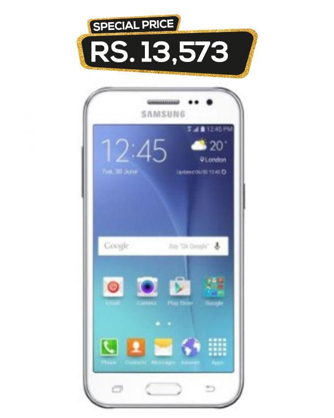 Samsung Galaxy J2 – 4 7″ – 8GB – 1GB RAM – 5 MP – White