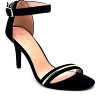 943884c2505 Starlet Black Suede Sandal For Women - SL-IS-0001 - Euro Size