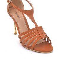 d5cea61da86 Starling Brown Leather Women Starling Heels - SL-IS-53